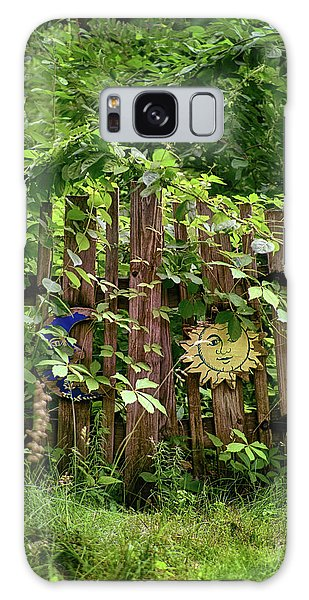 Old Garden Gate Galaxy Case by Mark Miller