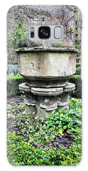 Bury St Edmunds Galaxy Case - Old Garden Stone Trough by Tom Gowanlock