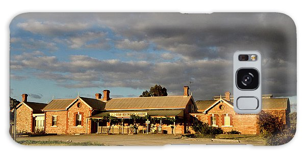 Old Ghan Railway Restaurant Galaxy Case by Douglas Barnard