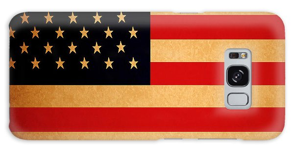 Old Glory . Square Galaxy Case
