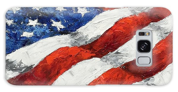 Old Glory II Galaxy Case