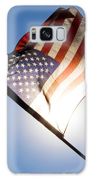 Old Glory Galaxy Case