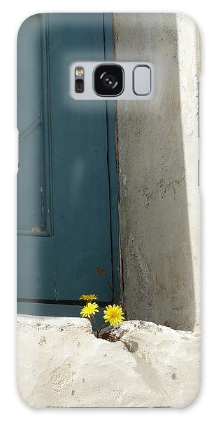 Old Greek Door Galaxy Case