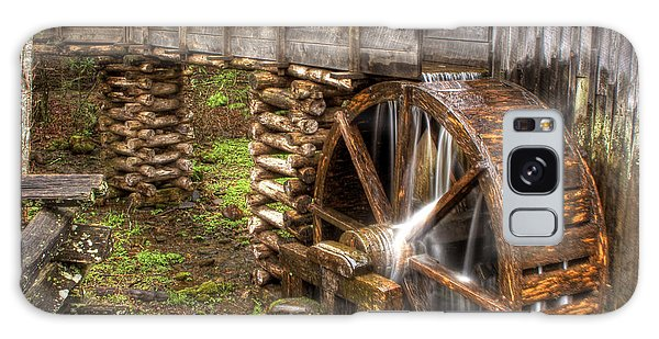 Old Grist Mill Galaxy Case