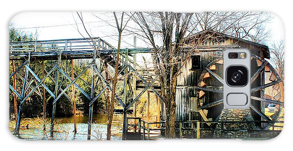 Old Gristmill Galaxy Case by Rick Friedle