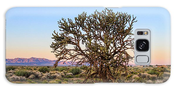 Old Growth Cholla Cactus View 2 Galaxy Case