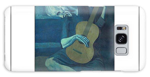 Old Guitarist Galaxy Case