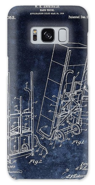 Old Truck Galaxy Case - Old Hand Truck Patent by Dan Sproul
