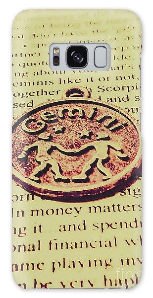 Mythology Galaxy Case - Old Horoscope Of Gemini by Jorgo Photography - Wall Art Gallery
