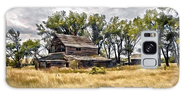 Old House And Barn Galaxy Case