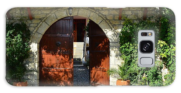 Old House Door Galaxy Case