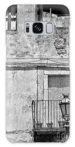 Old House In Taormina Sicily Galaxy Case