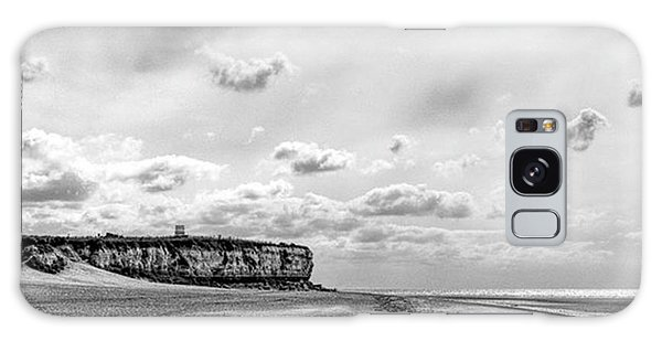 Old Hunstanton Beach, Norfolk Galaxy Case by John Edwards