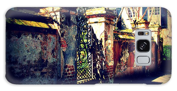 Old Iron Gate In Charleston Sc Galaxy Case