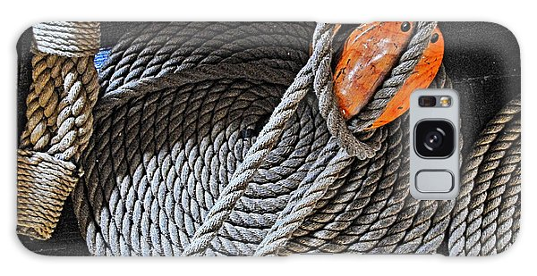 Old Ironsides Rope Galaxy Case by Mike Martin