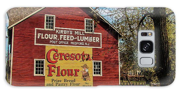Old Kirby's Flower Mill Galaxy Case