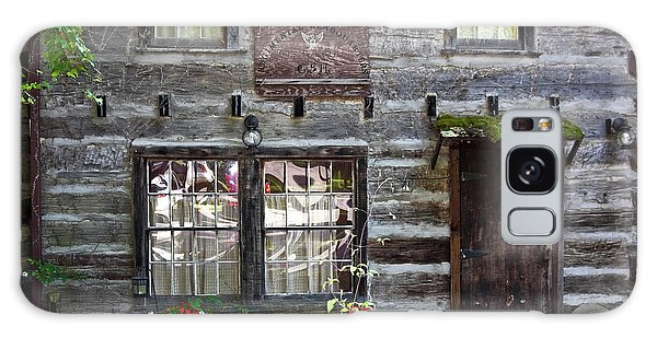 Old Log Building Galaxy Case