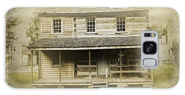 Galaxy Case featuring the photograph Old Log Cabin by Joan Reese