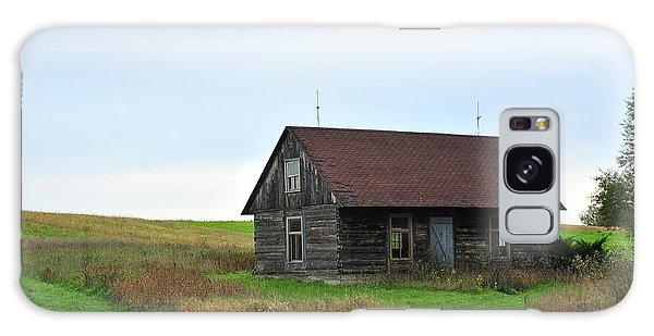 Old Log Cabin Galaxy Case