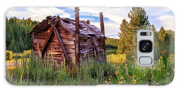 Old Lumber Mill Cabin Galaxy Case