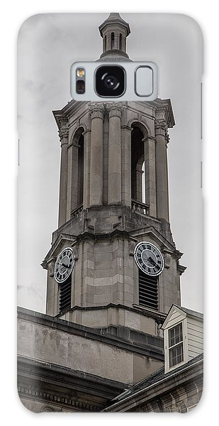 Old Main Penn State Clock  Galaxy Case