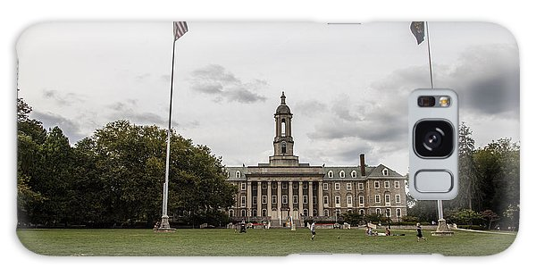 Penn State University Galaxy Case - Old Main Penn State Wide Shot  by John McGraw