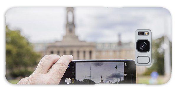 Penn State University Galaxy Case - Old Main Through Iphone  by John McGraw