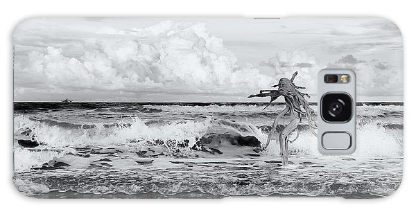 Old Man In The Sea Galaxy Case by Carolyn Dalessandro