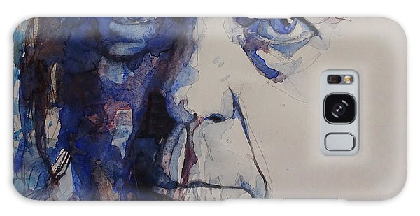 Old Man - Neil Young  Galaxy Case by Paul Lovering
