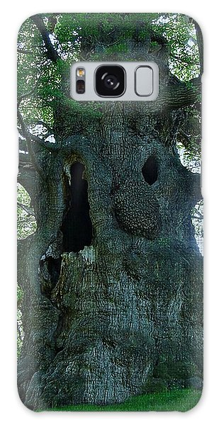 Old Man Tree Galaxy Case by Digital Art Cafe