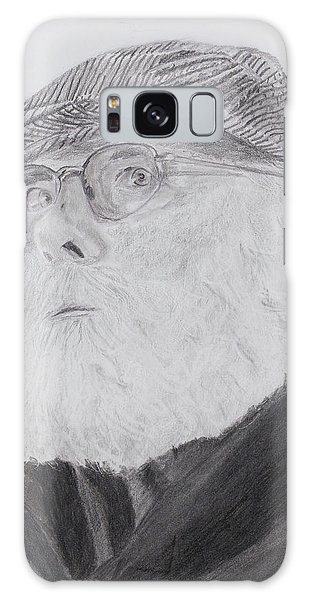 Old Man With Beard Galaxy Case