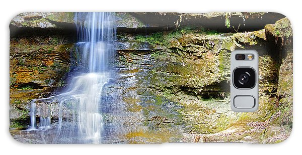 Old Man's Cave Waterfall Galaxy Case