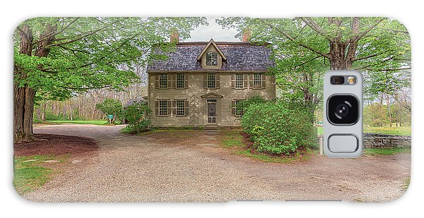 Old Manse Concord, Massachusetts Galaxy Case