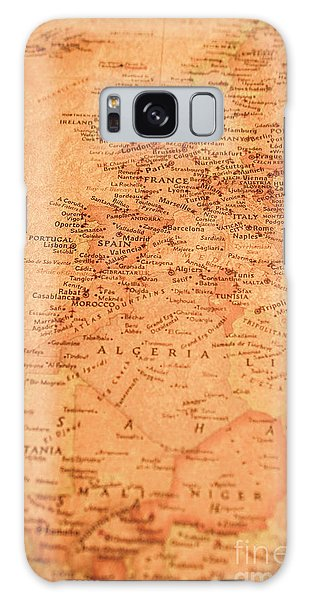 Navigation Galaxy Case - Old Maritime Map by Jorgo Photography - Wall Art Gallery