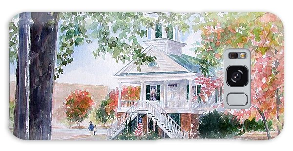 Old Market Hall Cheraw Galaxy Case by Gloria Turner