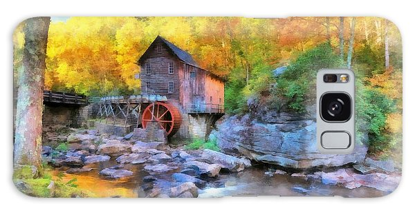 Old Mill Aquarelle Galaxy Case