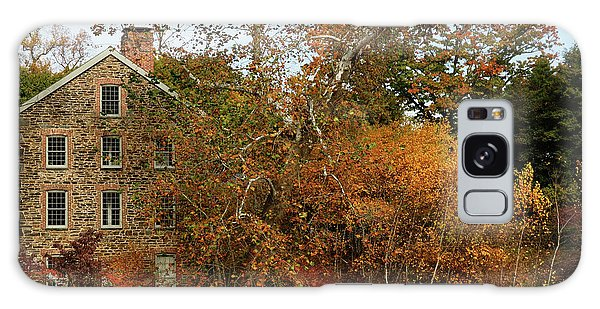 Old Mill In Autumn Galaxy Case