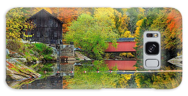 Old Mill In The Fall  Galaxy Case
