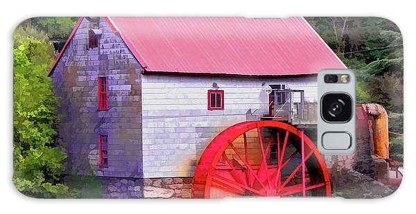 Old Mill Of Guilford Painted Square Galaxy Case