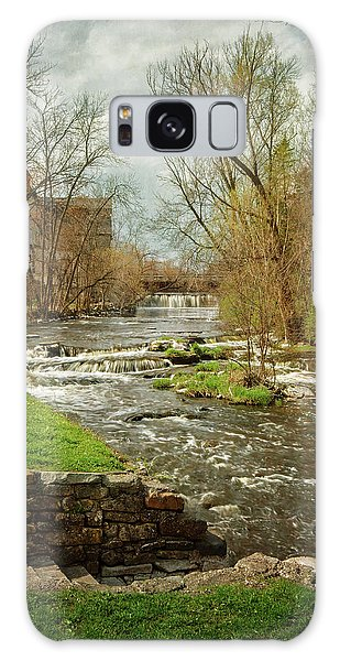 Old Mill On The River Galaxy Case
