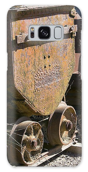 Old Mining Car Galaxy Case by Phyllis Denton