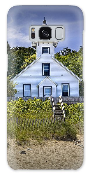 Old Mission Point Lighthouse In Grand Traverse Bay Michigan Number 2 Galaxy Case