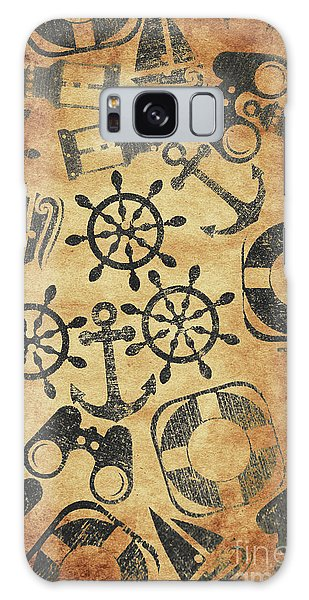 Navigation Galaxy Case - Old Nautical Parchment by Jorgo Photography - Wall Art Gallery