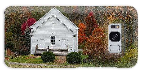 Old New England Church Galaxy Case