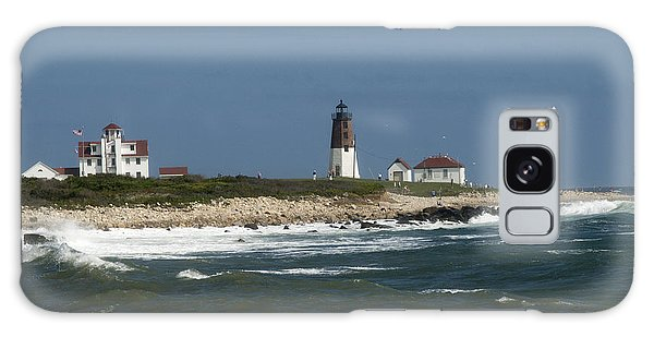 Old New England Lighthouse Galaxy Case