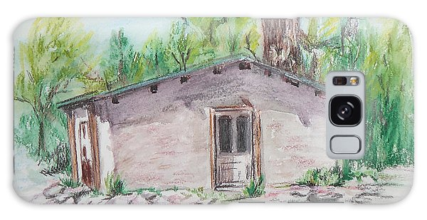 Old New Mexico House Galaxy Case