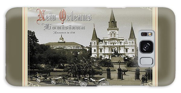 Old New Orleans Louisiana - Founded 1718 Galaxy Case