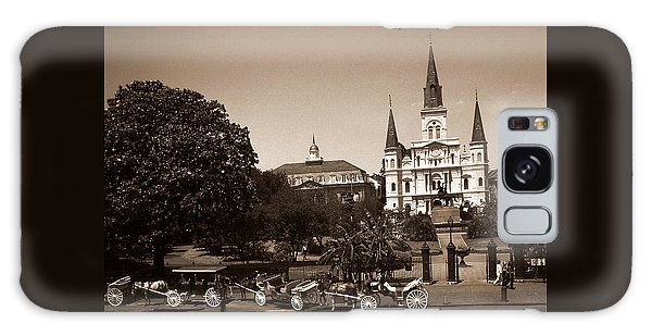 Old New Orleans Photo - Saint Louis Cathedral Galaxy Case