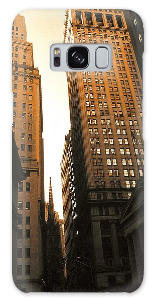 Old New York Wall Street Galaxy Case