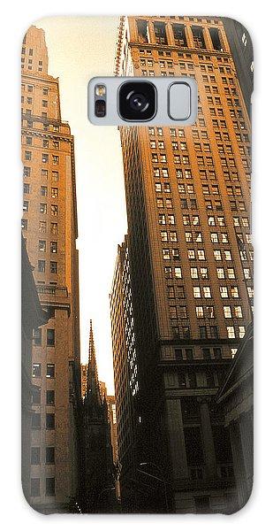 Old New York Wall Street Galaxy Case